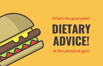 パーソナルトレーニングジムの食事指導