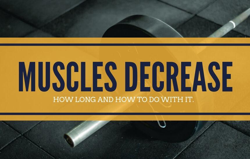 筋肉量が落ち始める期間と対策方法