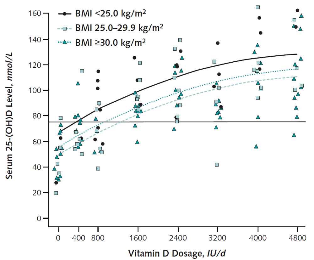 ビタミンDの摂取効果